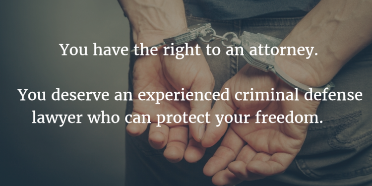 image with reasons to hire a criminal defense attorney