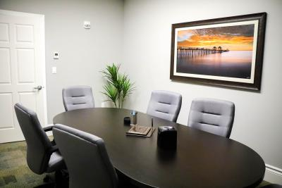 Conference Room at Kelleher Law in Naples, FL - Accident & Personal Injury Lawyers
