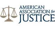 Logo for American Association for Justice - James Kelleher