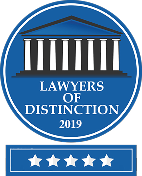 "James ""Jim for Justice"" Kelleher Awarded Lawyers of Distinction Membership"