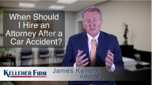 When Should I Hire an Attorney After a Car Accident?