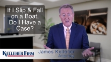 Boat accident attorney explains what happens if you slip and fall on a boat.