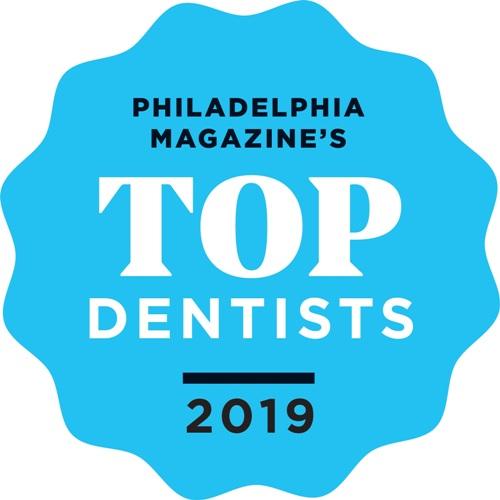 Philadelphia Magazine's Top Dentists 2019 badge