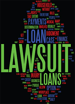 Graphic breaks down lawsuit loans in Chicago, Illinois