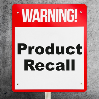 product recall warning