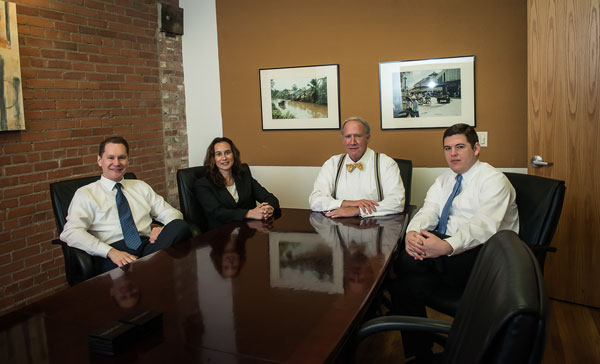 Lewis Kuhn Swan Law Firm - Attorneys in Conference Room - Colorado Springs
