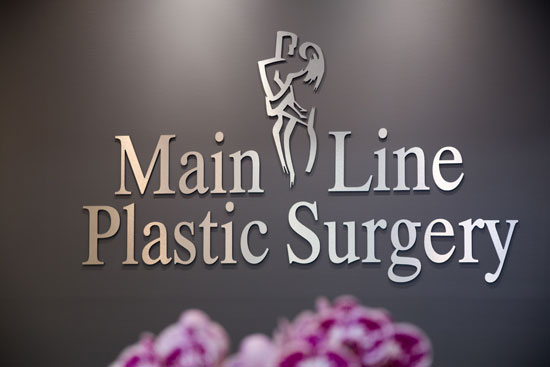 Signage - Main Line Plastic Surgery in Bryn Mawr, PA