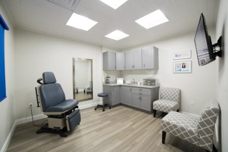 treatment room at Main Line Plastic Surgery
