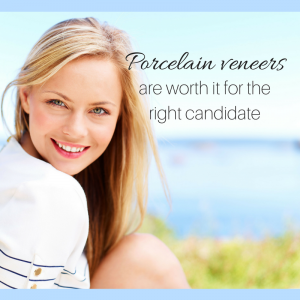 Porcelain veneers are a great way to fix your smile