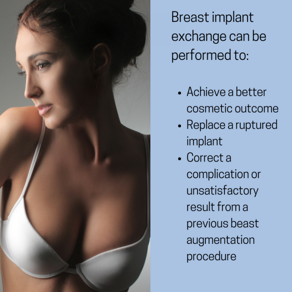 reasons for breast implant exchange - Newport Beach plastic surgeon