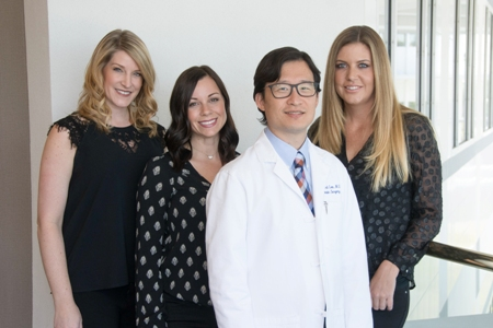 Dr. Richard Lee and his team in Newport Beach, California