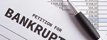 Filling out paperwork for filing bankruptcy - Get legal help now