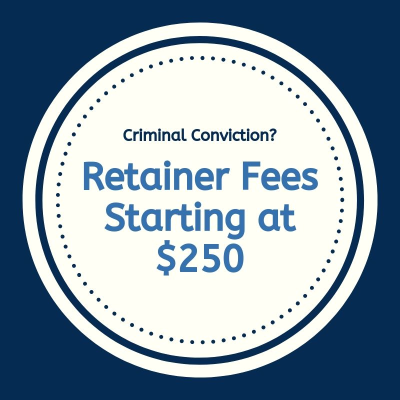 Retainer fees for criminal conviction in Kentucky
