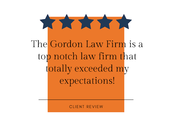 client 5-star review