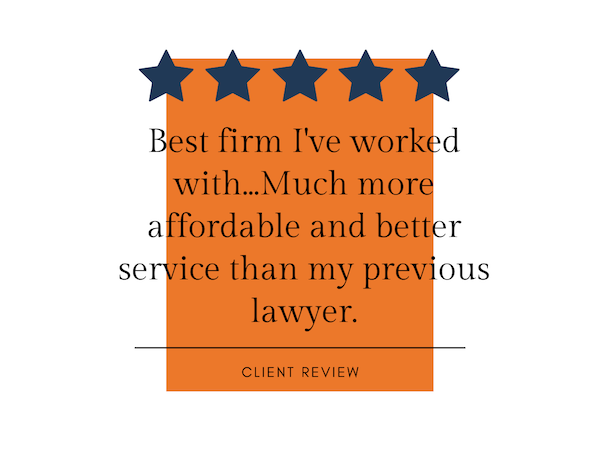 5-star client review