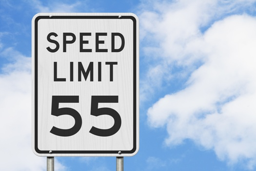 speed limit 55 - did you get pulled over?