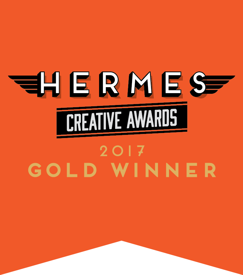 Page 1 Solutions - 2017 Gold Hermes Creative Award for Website Design