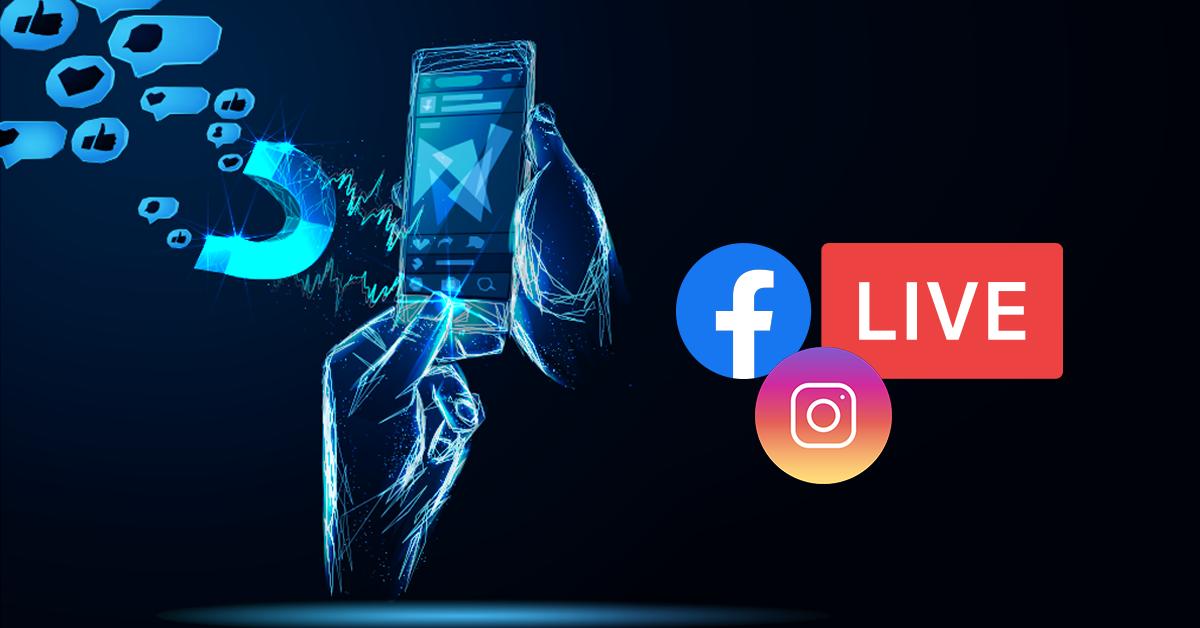 promote Instagram And Facebook Live Videos
