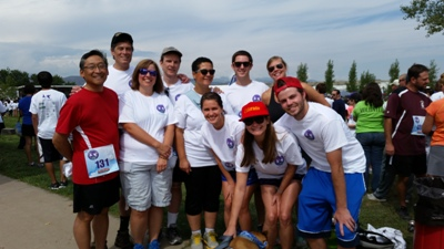 Page 1 Solutions staff, family, and friends at the 2014 Second Wind Fund Walk/Run
