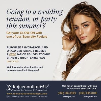 seasonal print promotion for RejuvenationMD