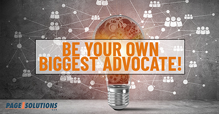 be your own biggest advocate on social media