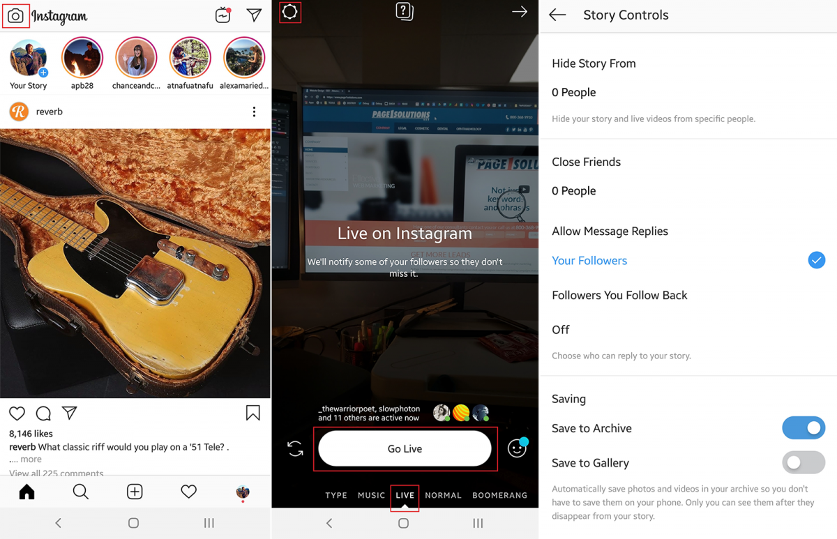 How To: Facebook & Instagram Live Video (May 2019)