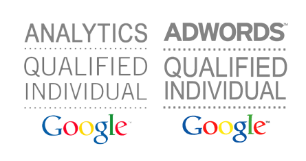 Google certified individual - Adwords and Analytics
