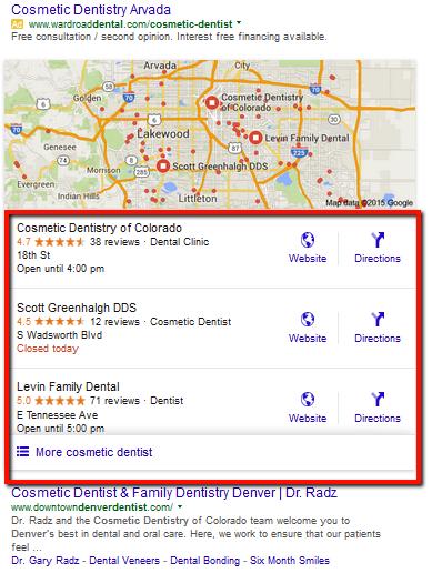 Google SERP Sample