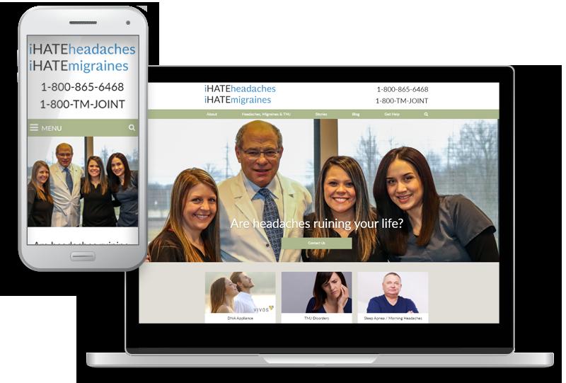 dental website design for Think Better Life