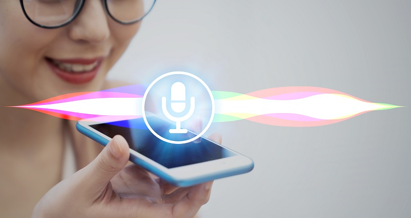 voice search on a smartphone