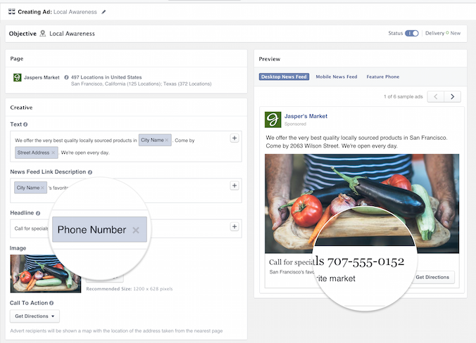 Facebook Local Awareness Adds New Features