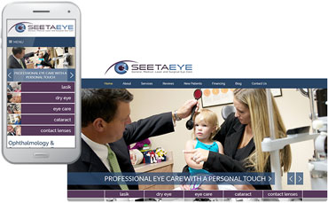 Seeta Eye Centers - Ophthalmology Website Design