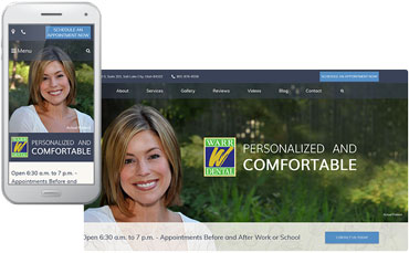Warr Dental website redesign