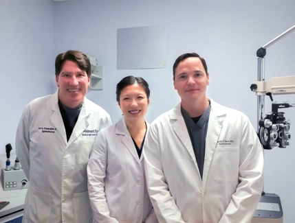 Dr. Stonecipher, Dr. Sun and Dr. Bevis | Piedmont Eye Surgical & Laser Center