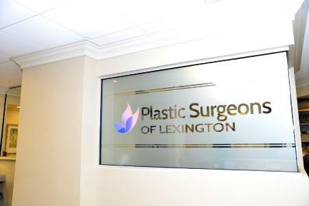 Plastic Surgeons of Lexington sign