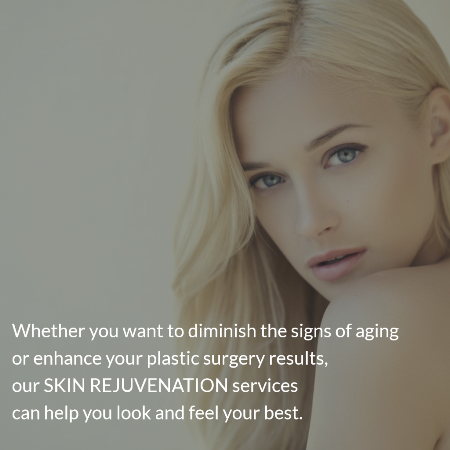 image describing options for non-surgical skin rejuvenation