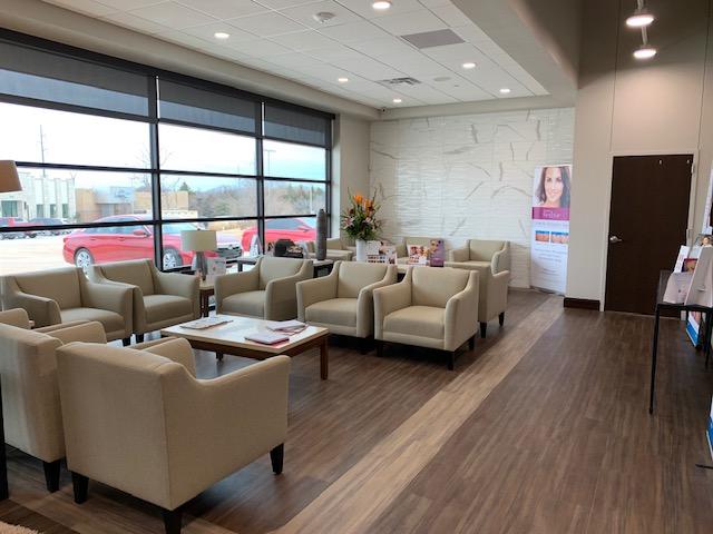 Reception Area - Rejuvena Cosmetic Medical Center - Oklahoma City, OK