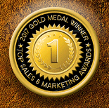 2017 Gold Medal - Top Sales and Marketing Awards