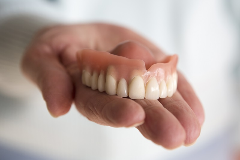 Full denture from Centennial dentist