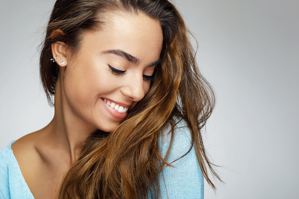Image of a smiling woman