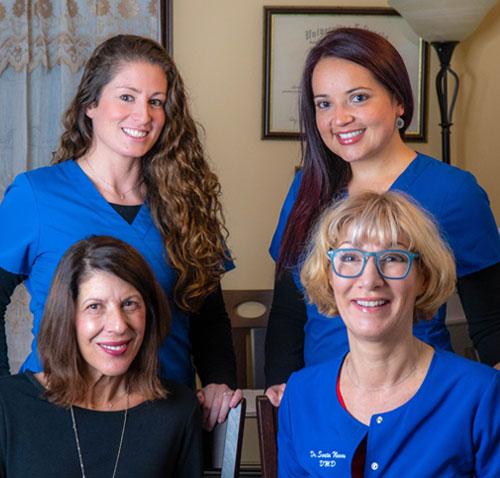 Dr. Novak and the staff of South Natick Dental