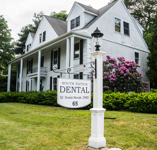 the office of South Natick Dental