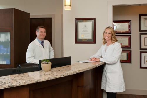 D. Philip Barnsley and Dr. Gabriele Weichert of Synergy Medical Aesthetics in Nanaimo, BC