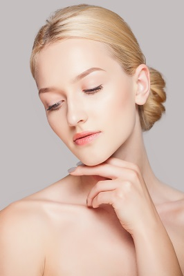 Woman with restylane skinboosters Nanaimo