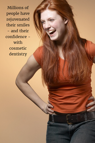 image illustrating what patients enjoy about cosmetic dentistry