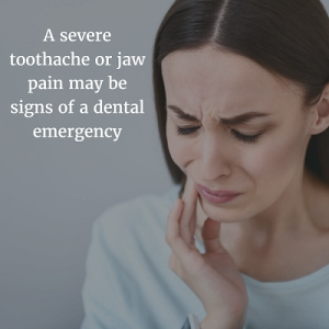 Signs of emergency dental problems in Omaha