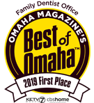 Best Family Dentist by Omaha Magazine