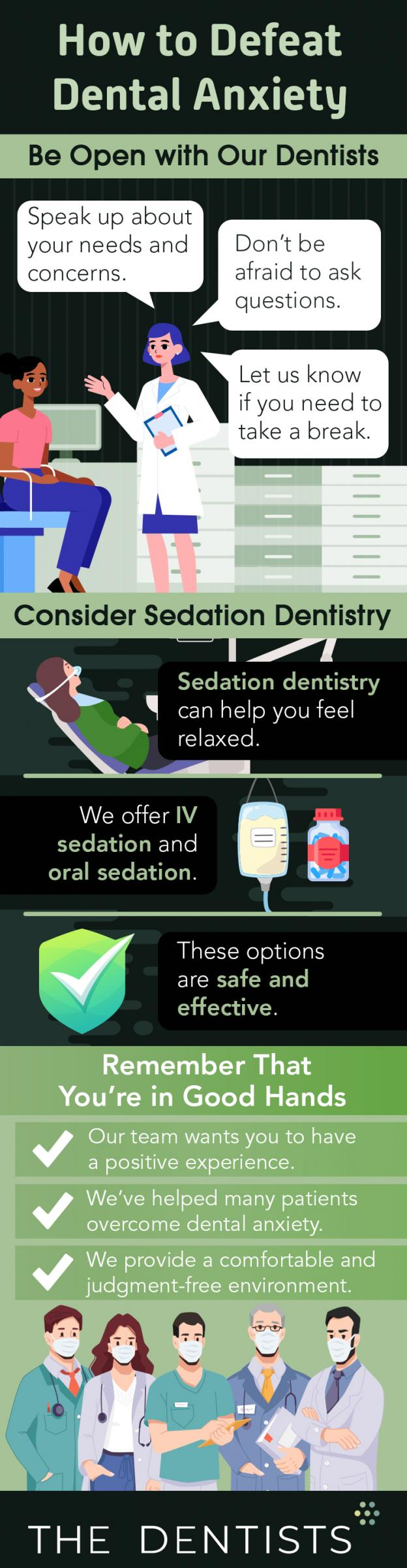 Dental anxiety infographic   Omaha dentists