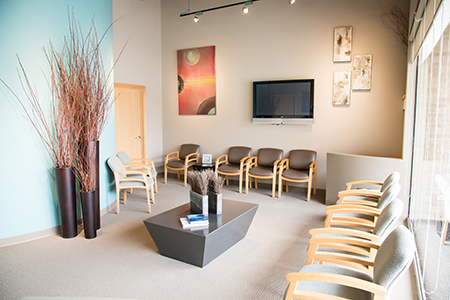 The Dentists at Village Pointe - interior