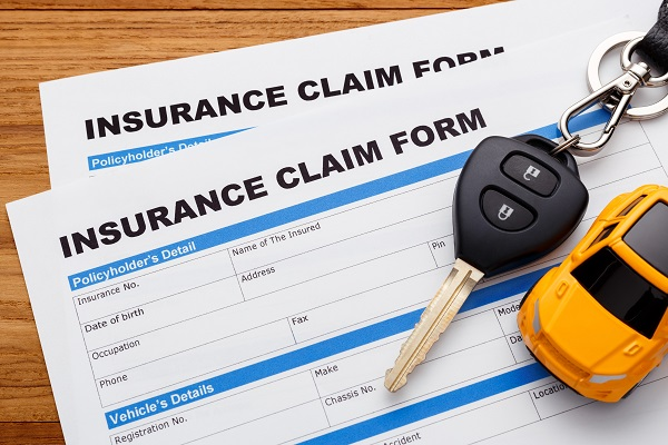 Auto insurance forms to fill out following a car accident in WV or KY
